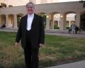 Andreas Spörri vor dem Opernhaus Kairo