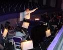 Probenarbeit mit dem Orchester der Staatsoper Kaunas